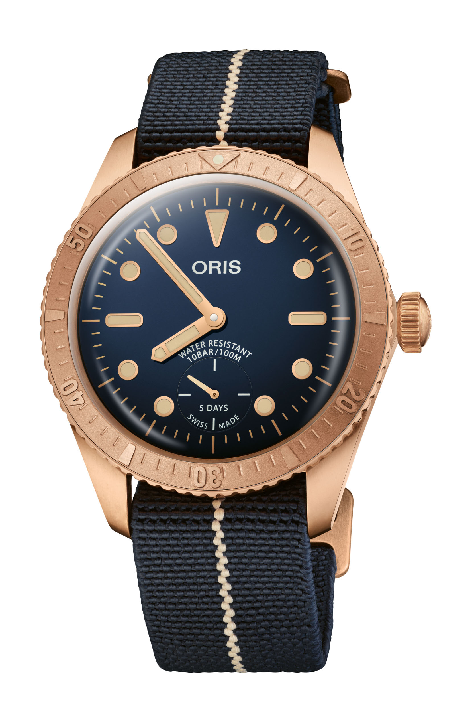 01 401 7764 3185 Set Oris Carl Brashear Calibre 401 Limited Edition HighRes 12943