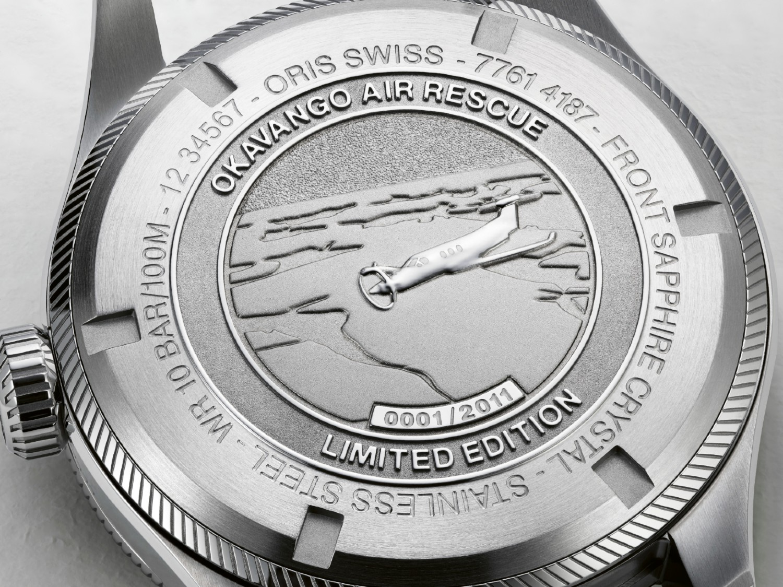 01 751 7761 4187 Set Oris Okavango Air Rescue Limited Edition HighRes 13866