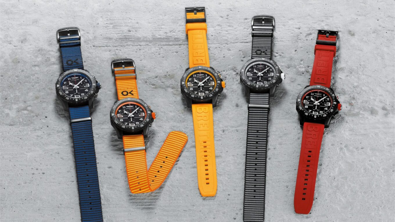 02 The Endurance Pro Collection with colorful rubber and ECONYL yarn NATO straps 2048x1533 min