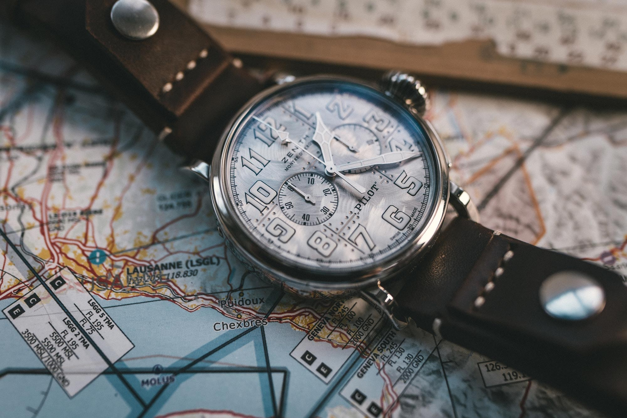 the Pilot Type 20 Chronograph Silver