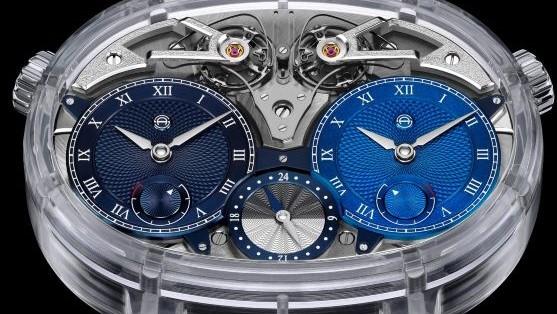 Armin Strom Dual Time Resonance Sapphire