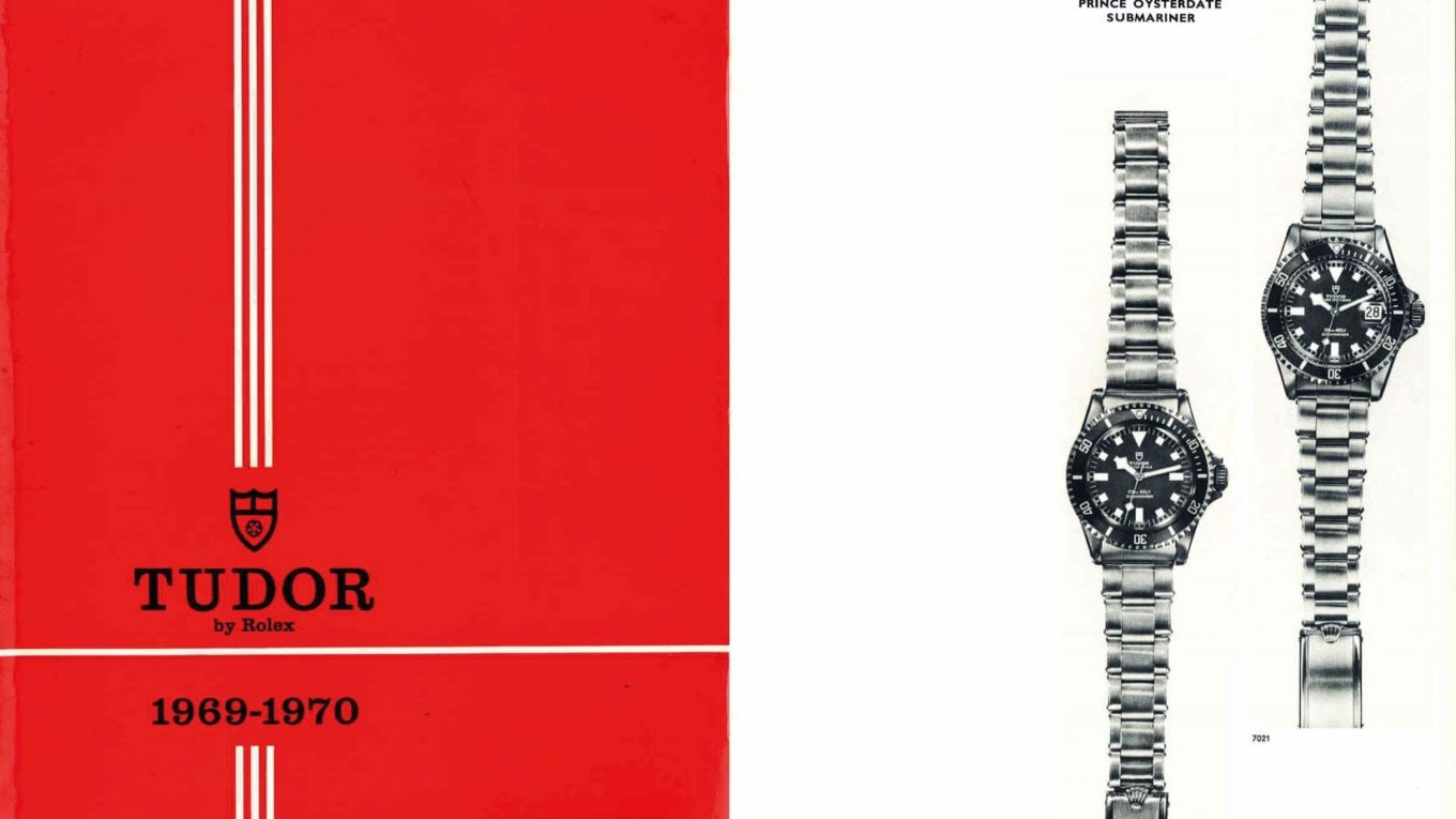 1 1969 TUDOR Catalogue with first Snowflake references min
