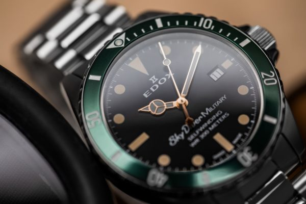 EDOX SKY DIVER MILITARY LIMITED EDITION