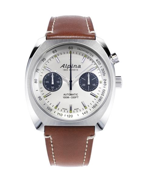 ALPINA AL 727SS4H6 startimer pilot heritage automatic chronograph Dicta