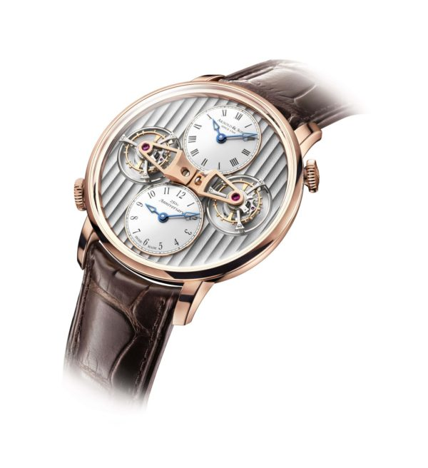 arnold & son DTE Double Tourbillon Escapement