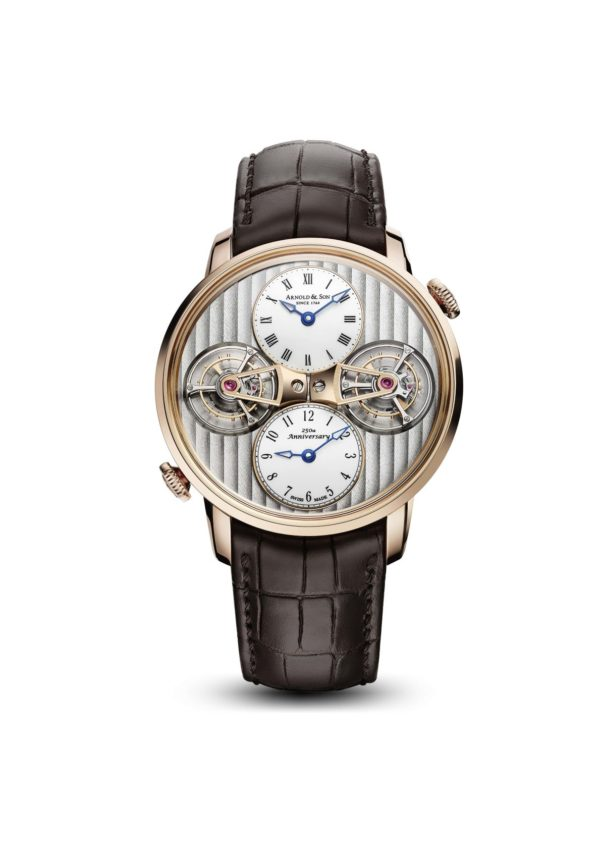 arnold & son DTE Double Tourbillon Escapement soldat