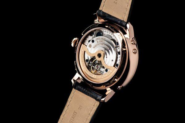 1 Frederique Constant FC 775G4S4 details 3 caseback SD credit Eric Rossier Frederique Constant presents two new Slimline Perpetual Calendar Manufacture timepieces