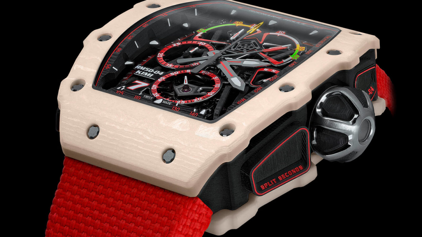 1 Richard Mille RM 50 04 Tourbillon Split Seconds Chronograph Kimi Räikkönen 2