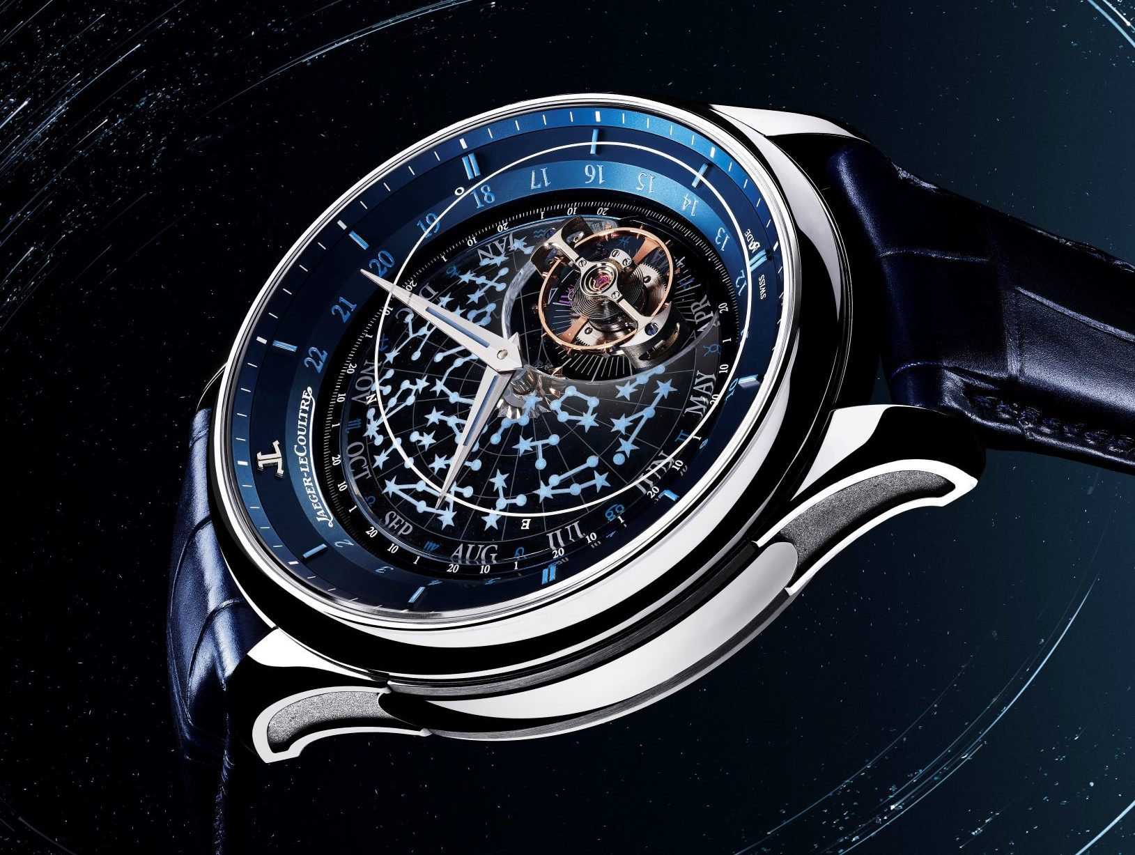 185000 eur for Jaeger-LeCoultre Master Grande Tradition Tourbillon Céleste