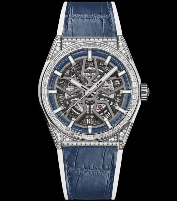 13 ZENITH DEFY HIGH JEWELRY SERIES Defy Classic Diamond