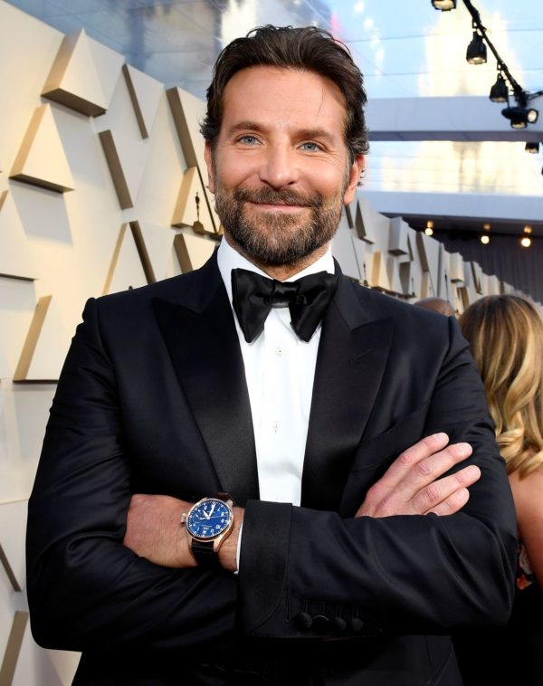 Bradley Cooper wearing IWC at the 91st Annual Academy Awards