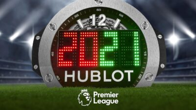 2020 2021 season Premier League 4th Referee Board by Hublot 2 min