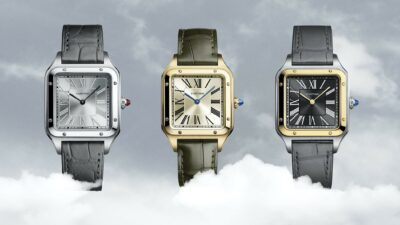 2020 Cartier Santos Dumont hand wound limited editions WGSA0034 WGSA0027 W2SA0015 min