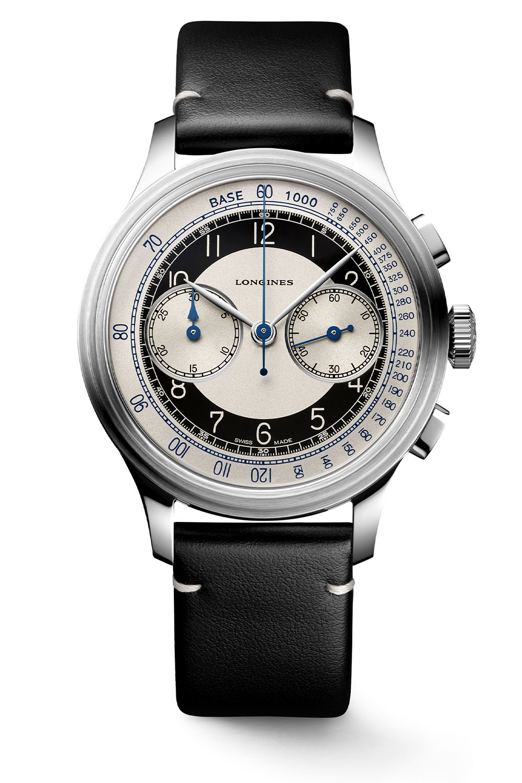 2020 Longines Heritage Tuxedo Chronograph