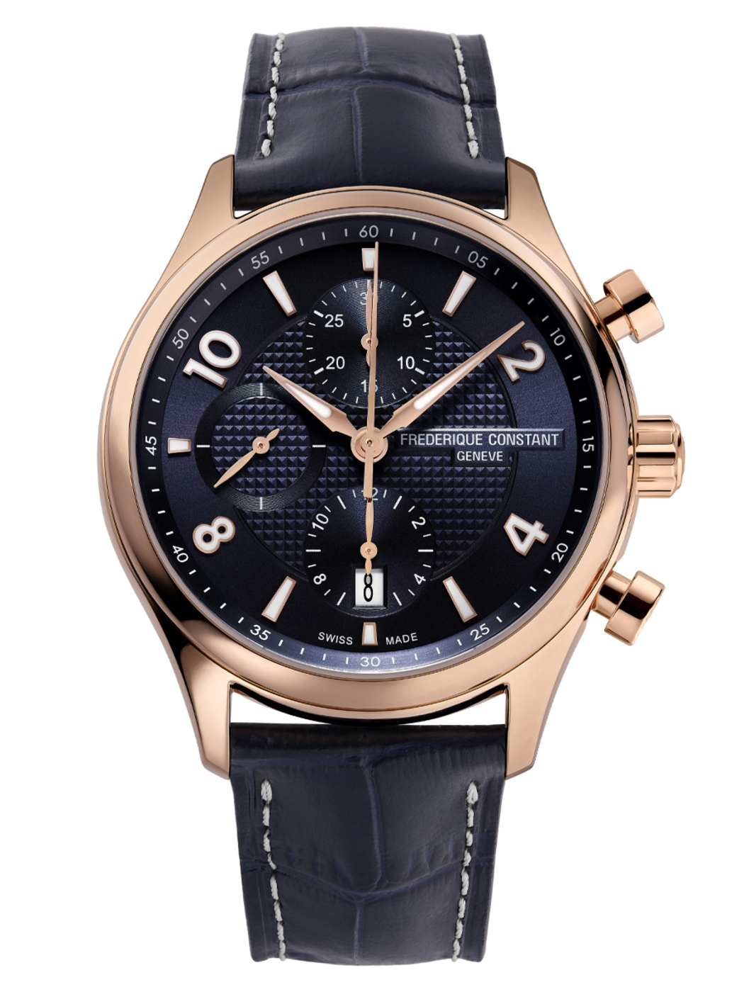 2021 Frederique Constant FC 392RMN5B4 Runabout Chronograph Automatic Front