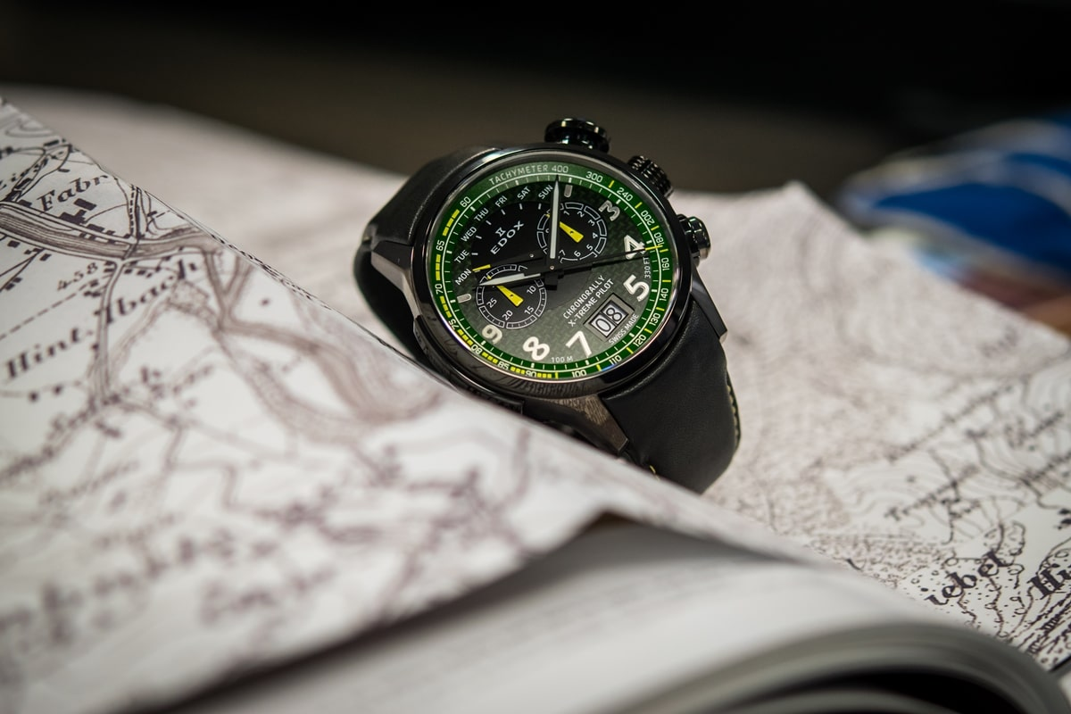 EDOX - CHRONORALLY X-TREME PILOT LIMITED EDITION