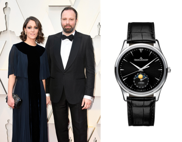 """Yorgos Lanthimos, director of the film 'The Favourite' nominated for """"Best Motion Picture of the Year"""" and """"Best Achievement in Directing"""", selected the Master Ultra Thin Moon timepiece from JAEGER-LECOULTRE"""