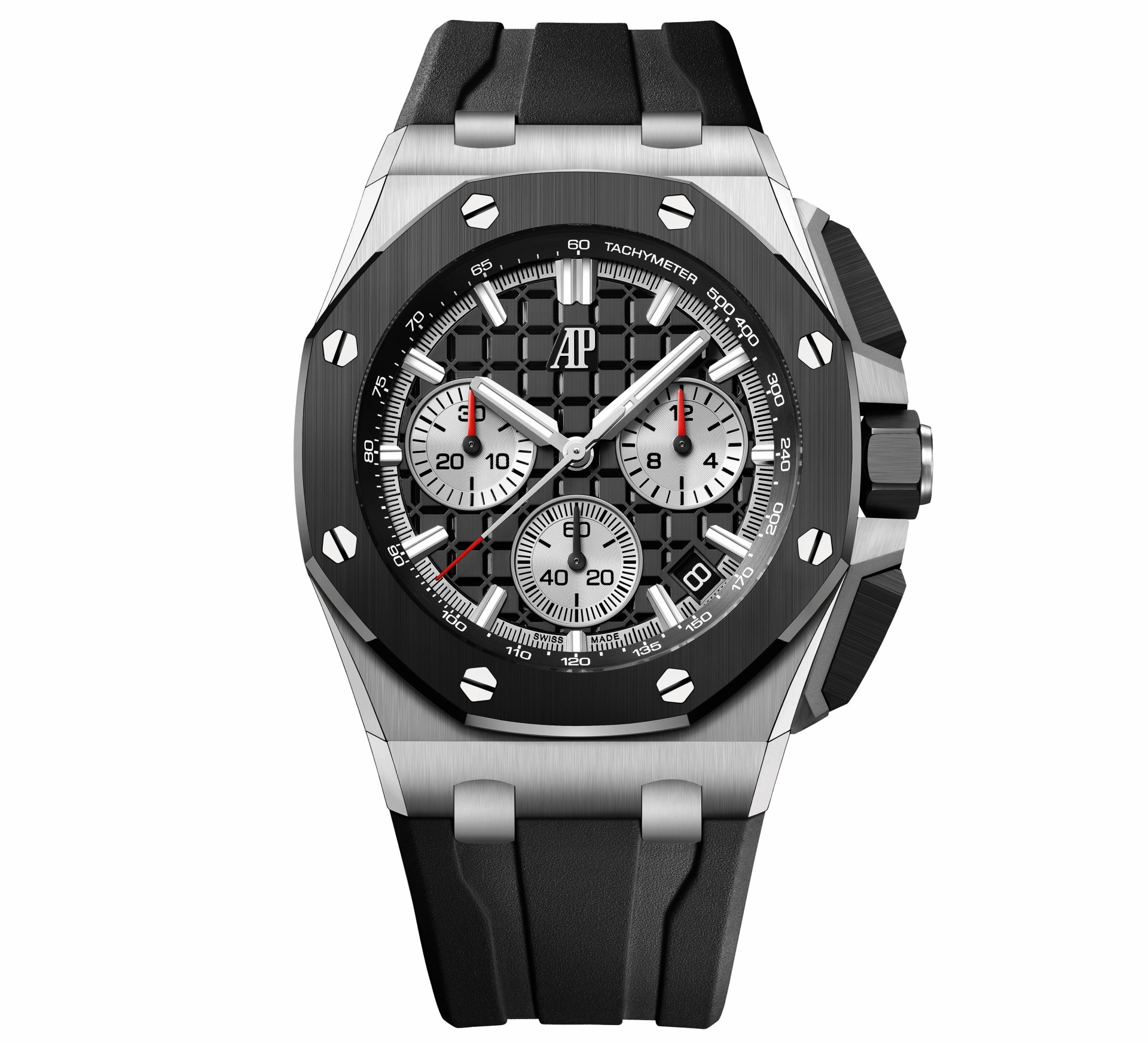 43mm Royal Oak Offshore in stainless steel with black dial 1