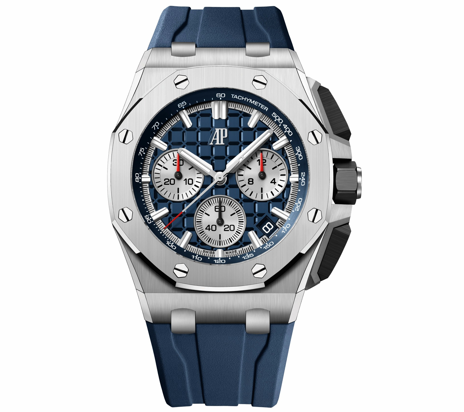 43mm Royal Oak Offshore in stainless steel with blue dial 1