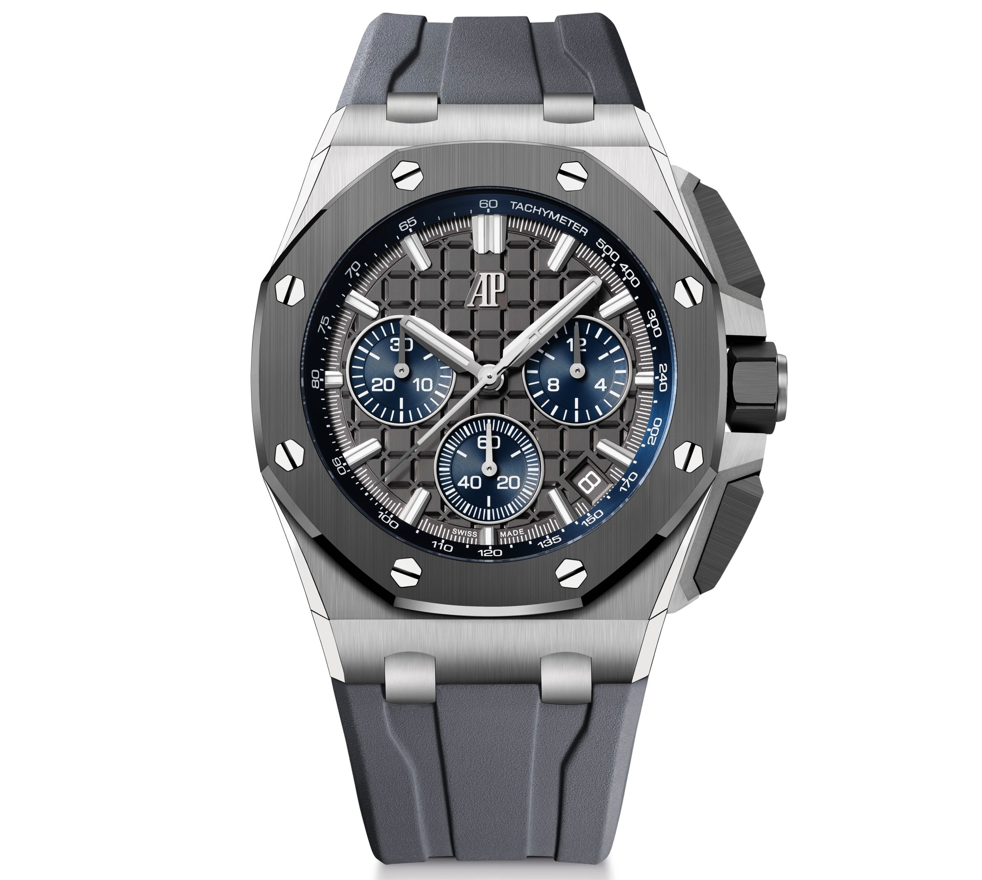 43mm Royal Oak Offshore in titanium with grey dial 1