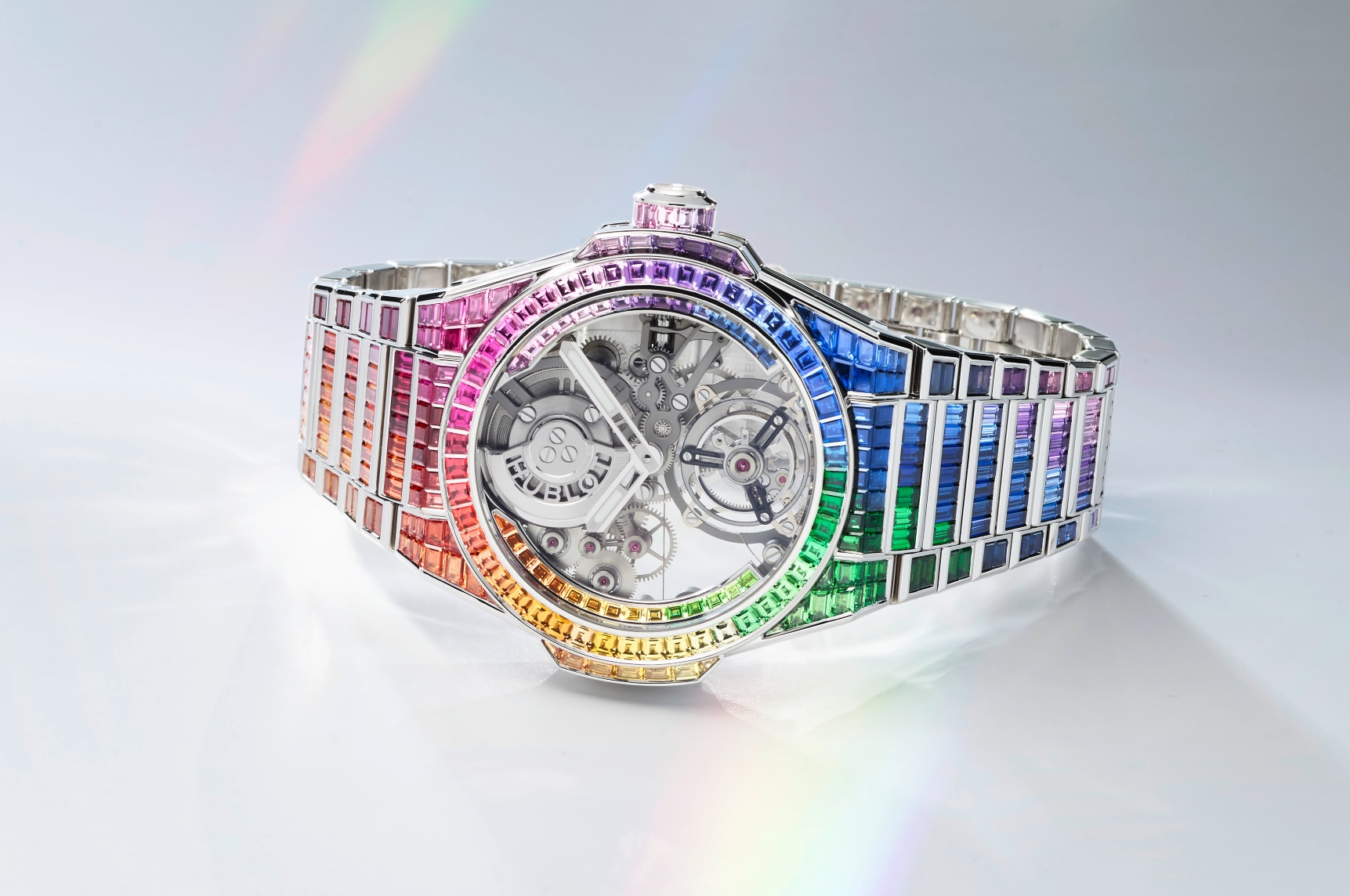 455 WX 9900 WX 9999 Big Bang Integral Tourbillon Rainbow