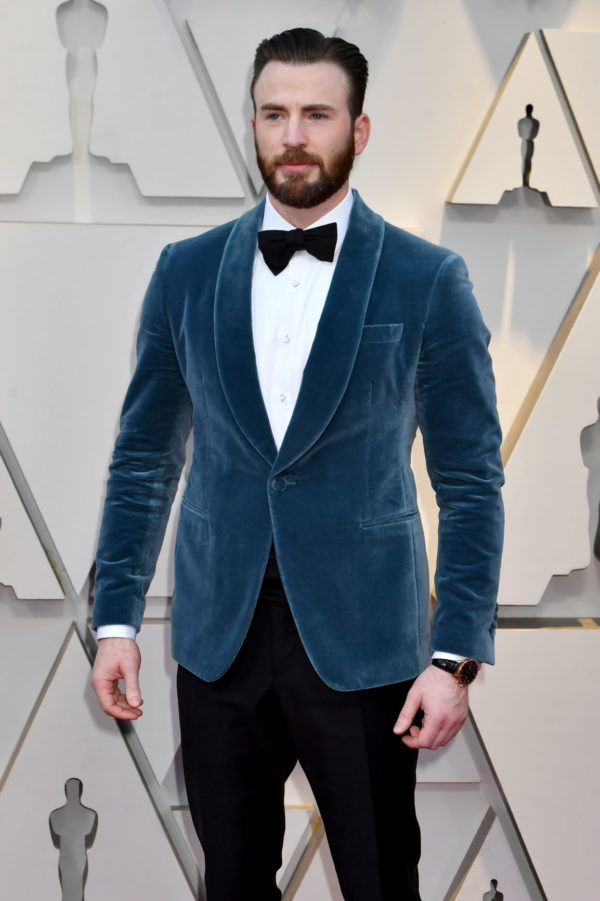 Chris-Evans-wearing-IWC-at-the-91st-Annual-Academy-Awards
