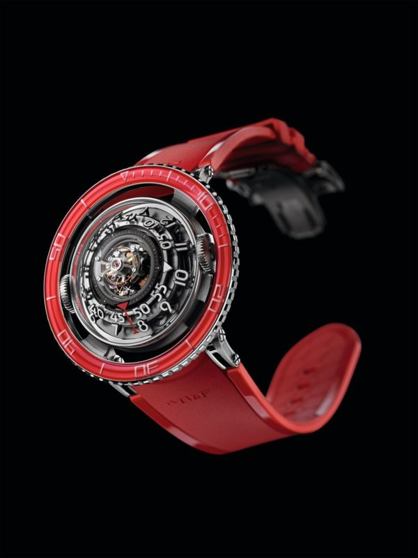 HOROLOGICAL MACHINE N°7 PLATINUM RED