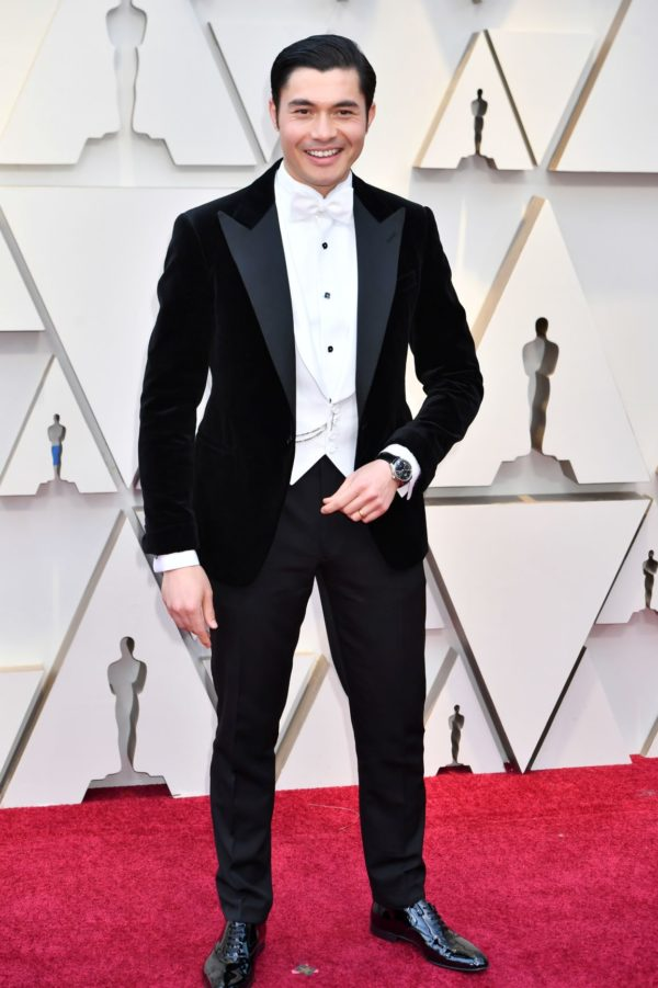 Henry-Golding-wearing-IWC-at-the-91st-Annual-Academy-Awards