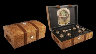 8 marvels world travel trunk 1