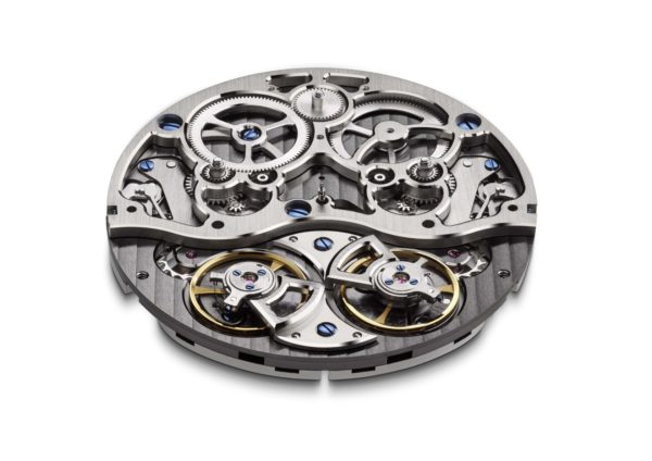 AS1309 DGB Skeleton calibre perspective arnold & son