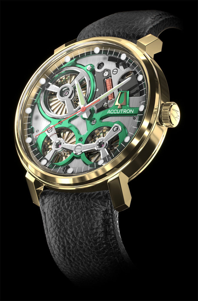Accutron SpaceView 2020 60th Anniversary angle 1000 672x1024 1
