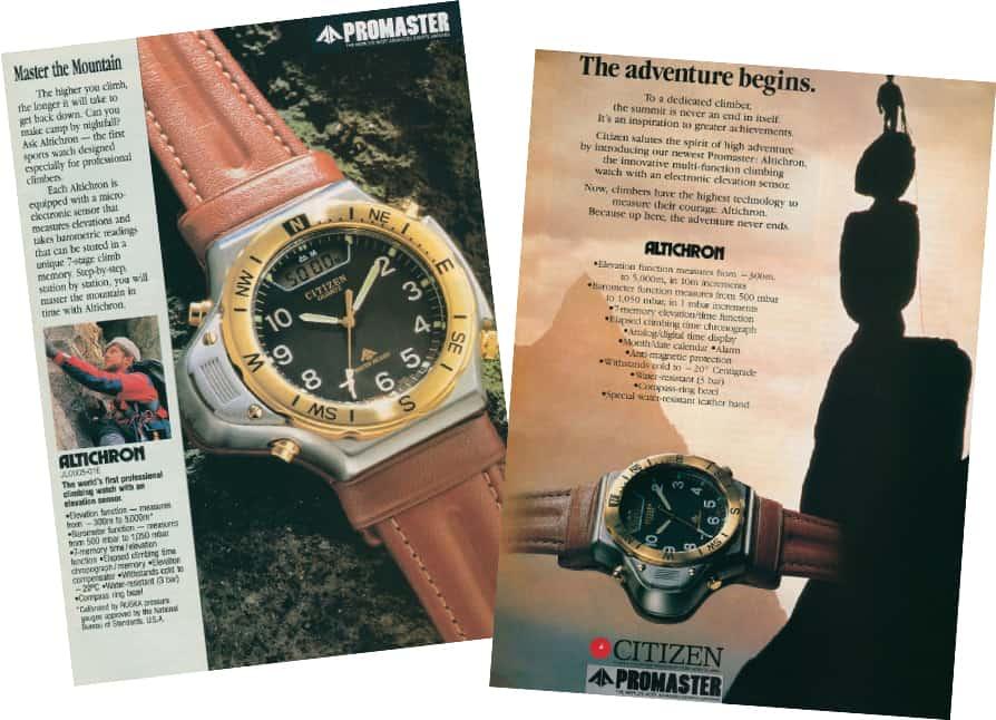 Altichron Vintage promaster 1989.