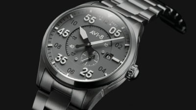 Avi 8 Spitfire Type 300 Automatic Edition gear patrol full lead