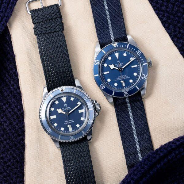 BB58 NavyBlue & Tudor Oyster Prince Submariner 7016