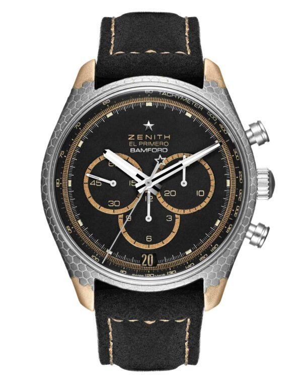Bamford Watch Department X Black Badger Zenith El Primero Superconductor 4