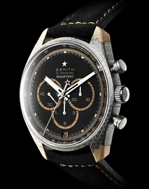 Bamford Watch Department X Black Badger Zenith El Primero Superconductor 5
