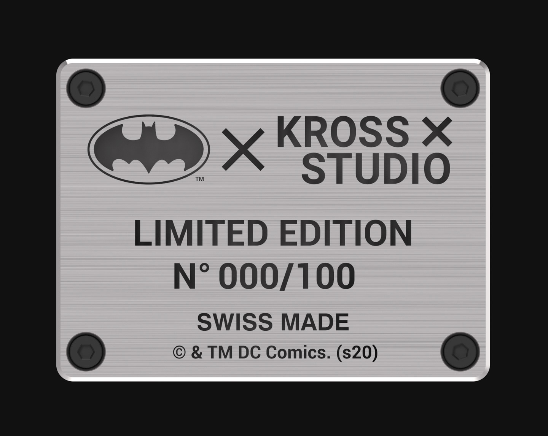 Batman 1989 Batmobile Kross Studio clock 16