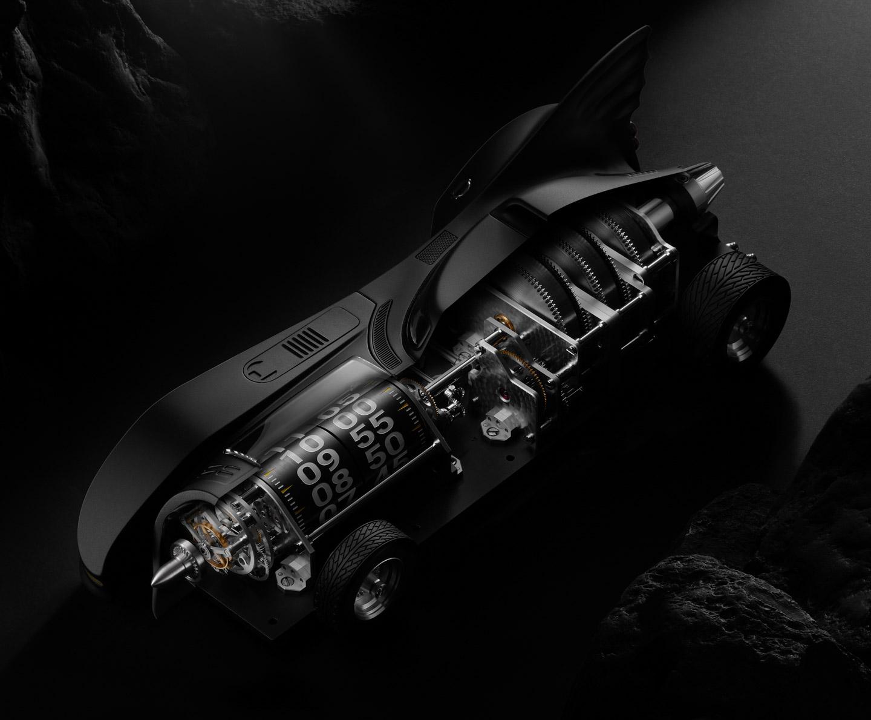 Batman 1989 Batmobile Kross Studio clock 22