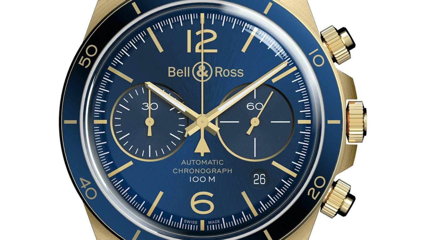 Bell And Ross BR V2 93 GMT BLUE BR V2 92 MILITARY GREEN BR V2 94 AÉRONAVALE BRONZE Watches 10