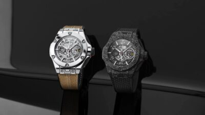Big Bang Ferrari 1000 GP in white gold and in carbon ceramic min