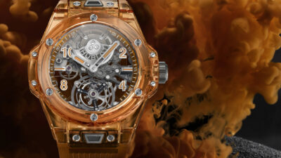 Big Bang Tourbillon Automatic Orange Sapphire 3