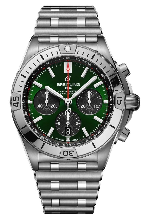 Breitling Chronomat B01 42 Bentley Limited Edition Green Dial AB01343A1L1A1