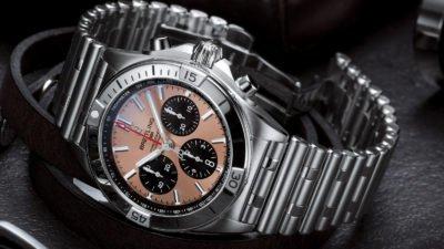 Breitling Chronomat B01 42mm Chronograph 2020 Rouleaux Bracelet Novelty aBlogtoWatch 10