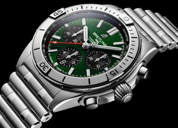 Breitling Chronomat B01 42mm Chronograph 2020 Rouleaux Bracelet Novelty aBlogtoWatch 4