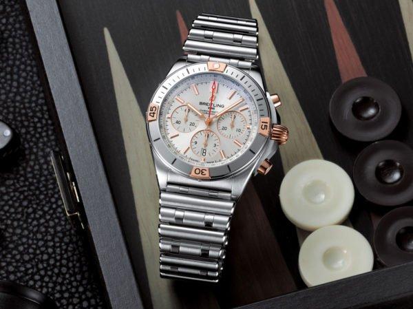 Breitling Chronomat B01 42mm Chronograph 2020 Rouleaux Bracelet Novelty aBlogtoWatch 7