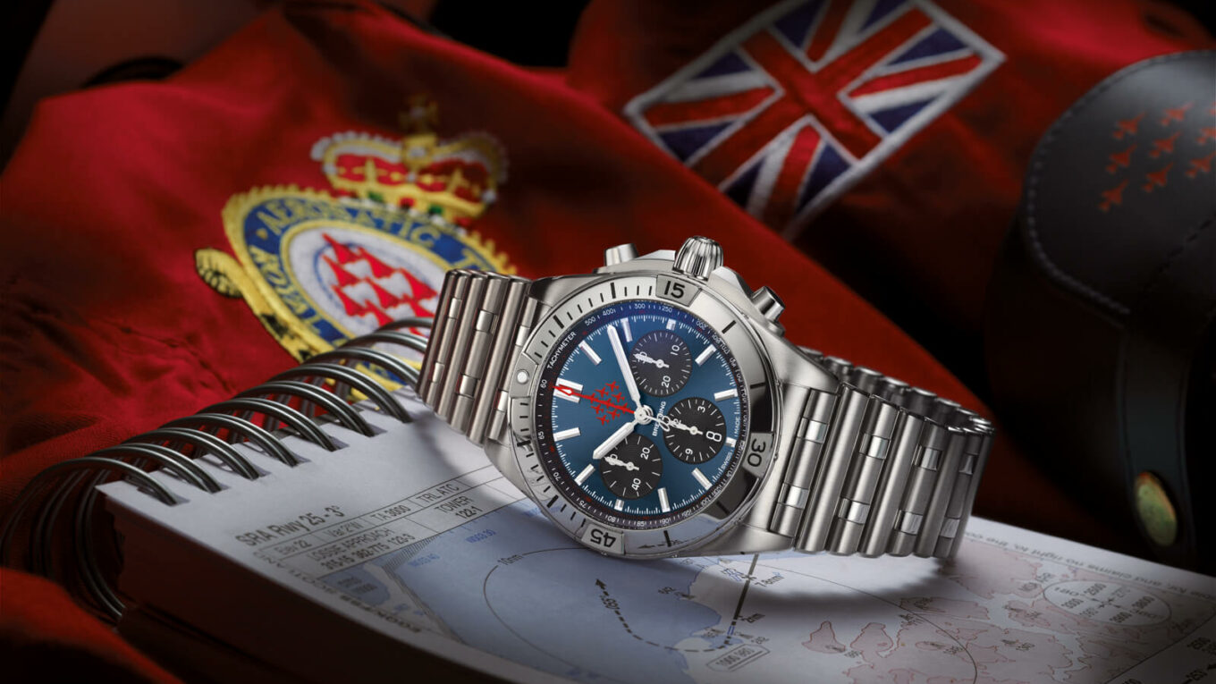 Breitling Chronomat Red Arrows Limited Edition lifestyle1