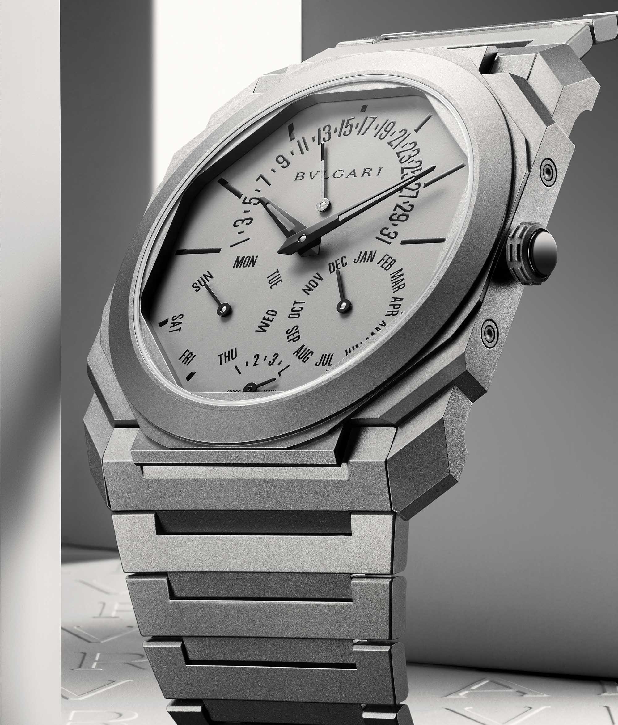 Bulgari Octo Finissimo Perpetual Calendar Watch–Ultra Thin World Record Dress Watch 2021 2