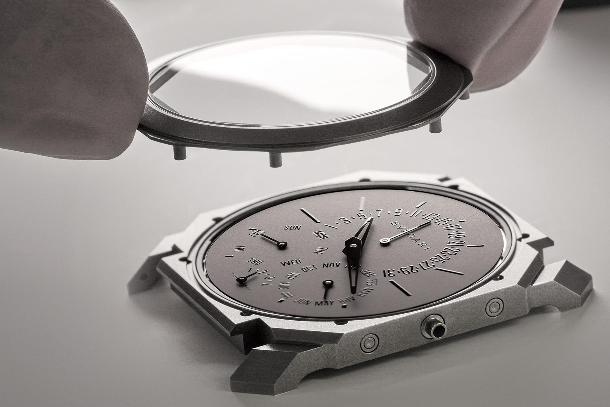 Bulgari Octo Finissimo Perpetual Calendar Watch–Ultra Thin World Record Dress Watch 2021 20