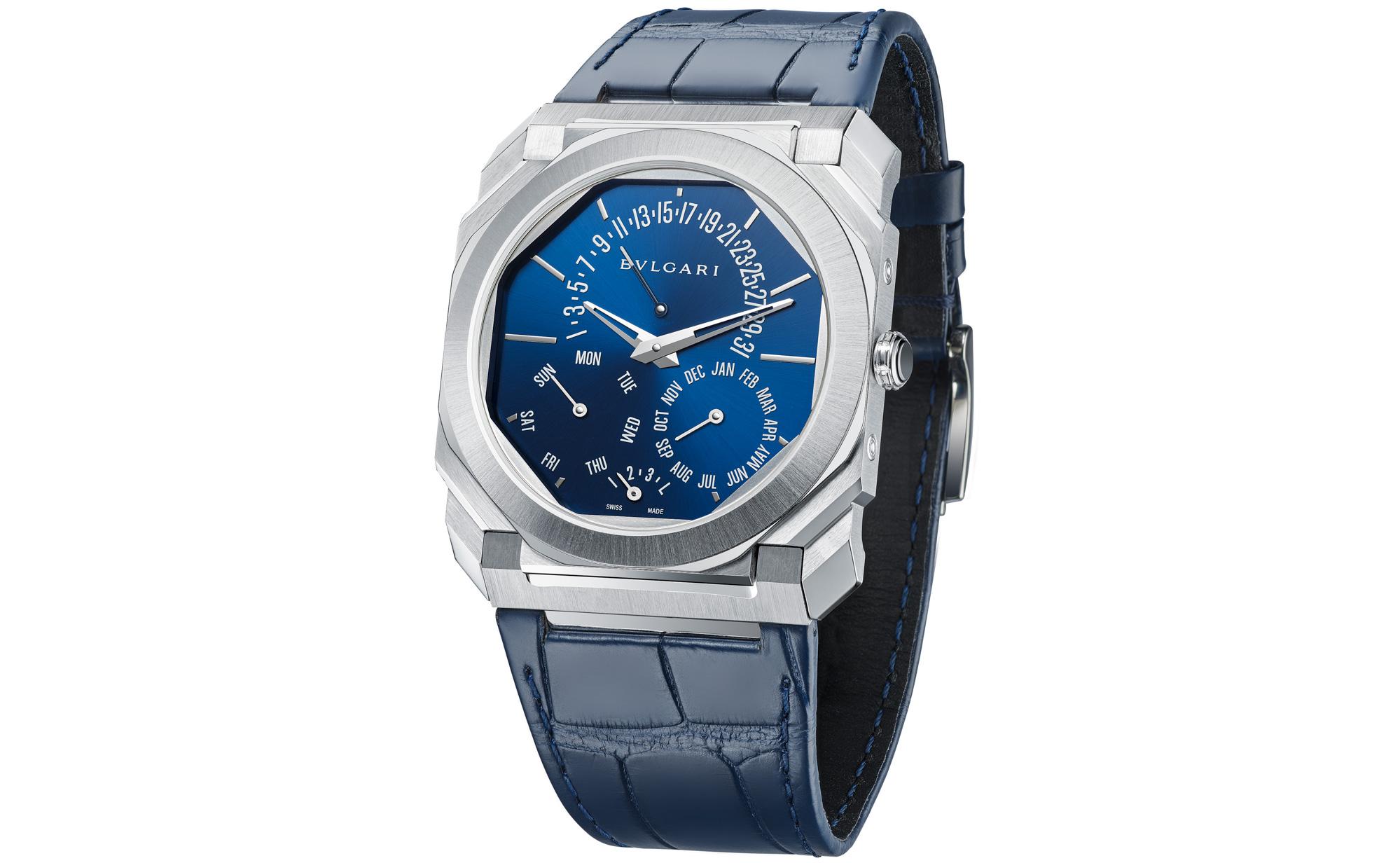 Bulgari Octo Finissimo Perpetual Calendar Watch–Ultra Thin World Record Dress Watch 2021 30