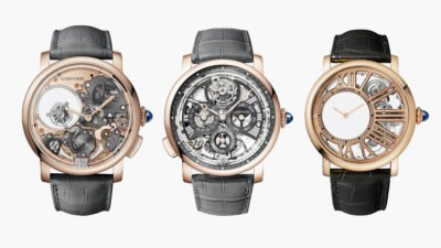 Cartier Fine Watchmaking Collection Rotonde de Cartier